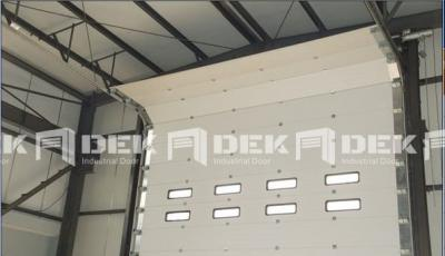 Industrial Sectional Overhead Door 11