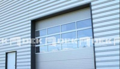 Industrial Sectional Overhead Door 08